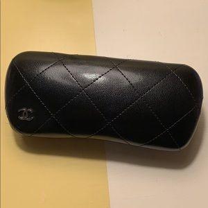 Authentic Chanel glasses case